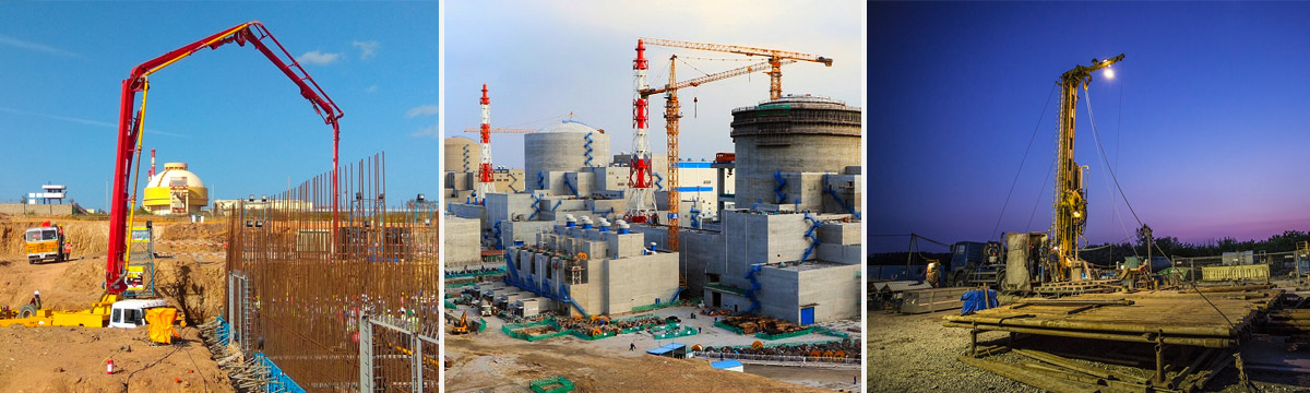 Роатом ведёт строительство блоков АЭС одновременно в десяти странах мира