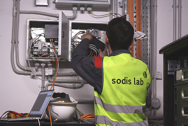 SODIS Lab has installed at the RostecCity structural monitoring systems and building equipment monitoring