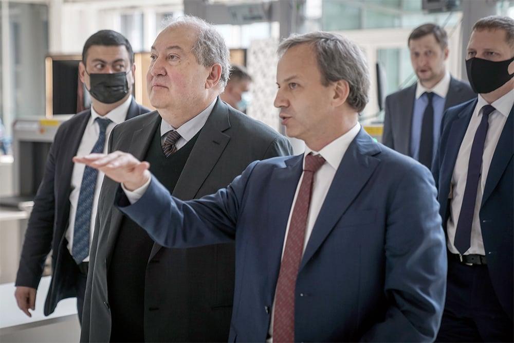 Президент Армении в Сколково