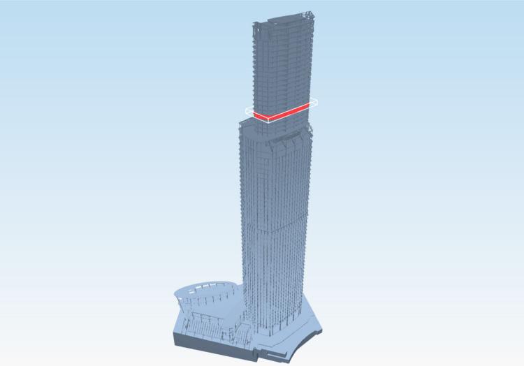 BIM of Eurasia tower © SODIS Lab