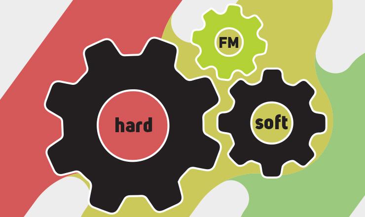 hard vs soft facility management